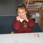 Very happy in Robertstown national school