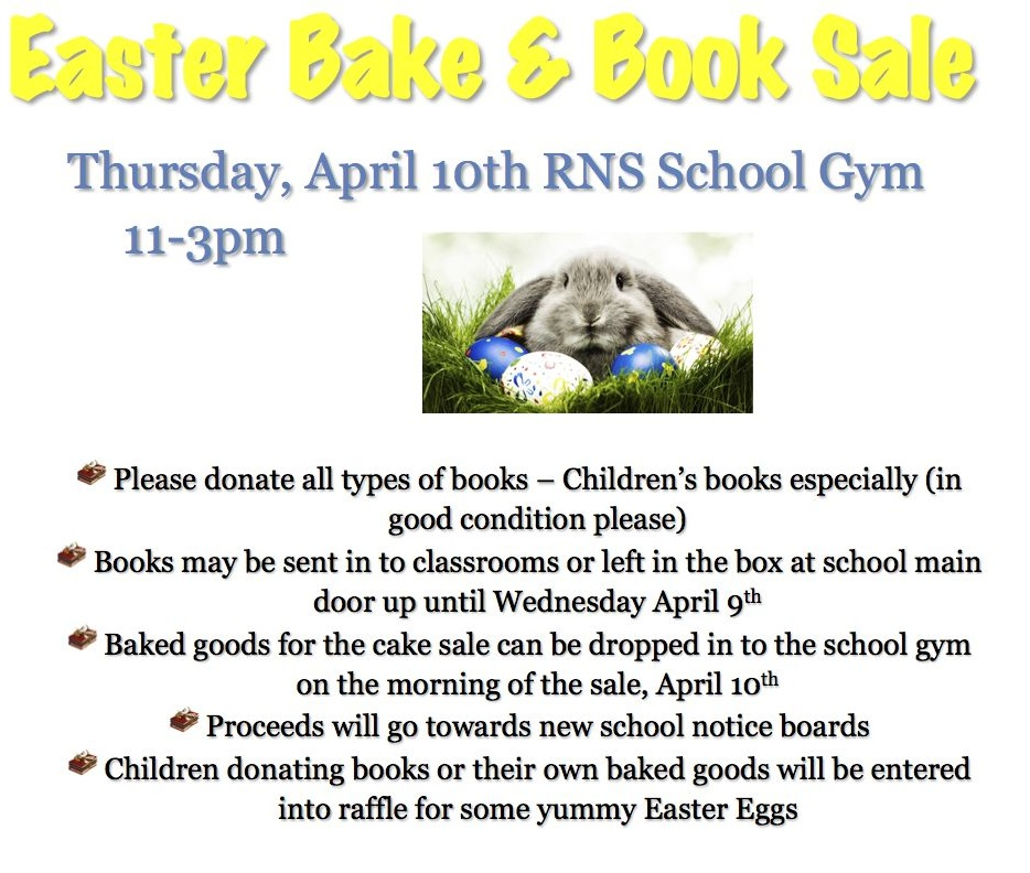 Bake & Book Sale