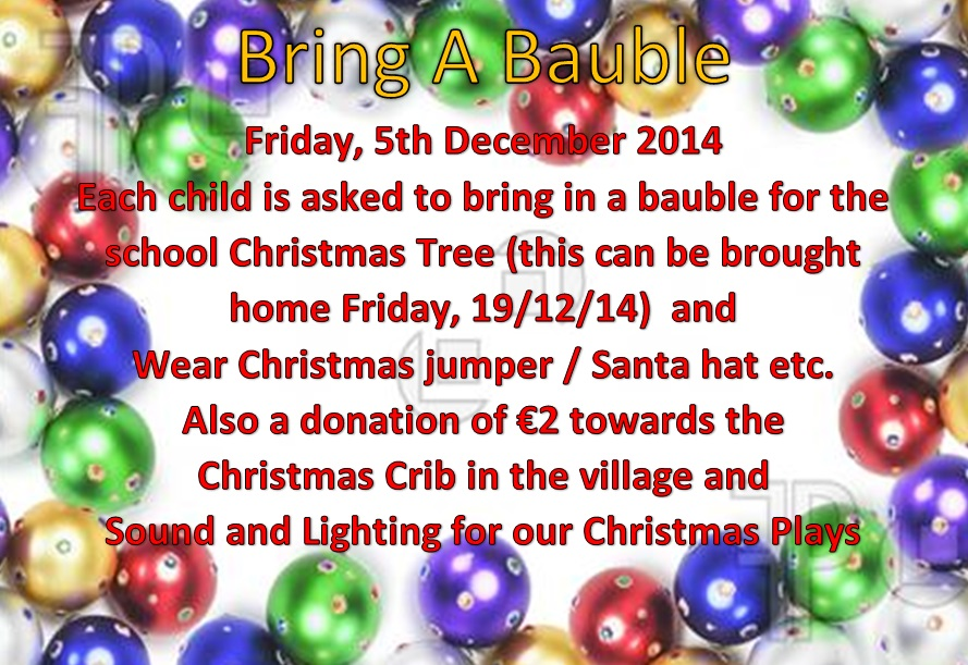 Bring A Bauble