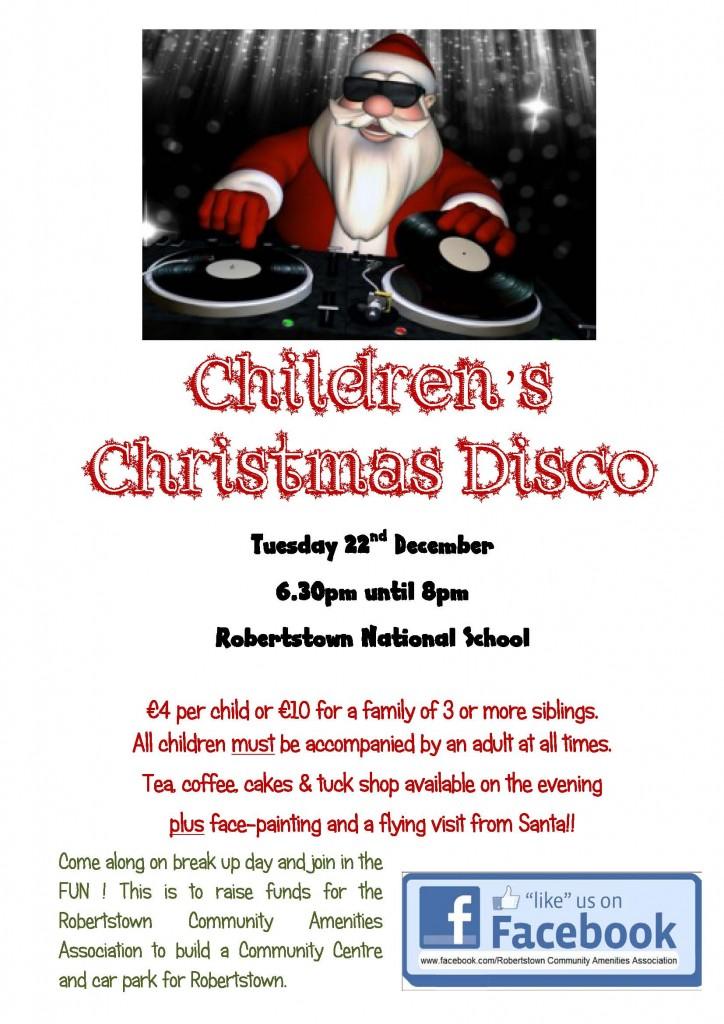 Christmas Disco poster3