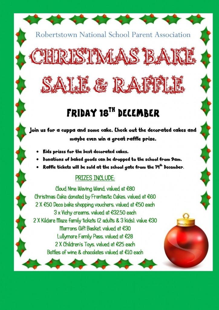 Christmas Raffle Poster 3