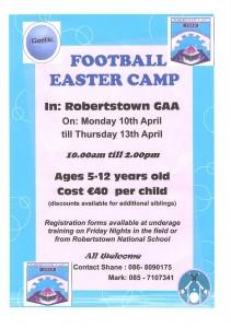 GAA Easter Camp